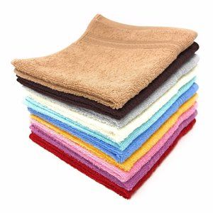 Towels Luxury Cotton Washcloths, (12-Pack,13 x 13)